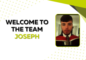 Welcome to the team Joseph
