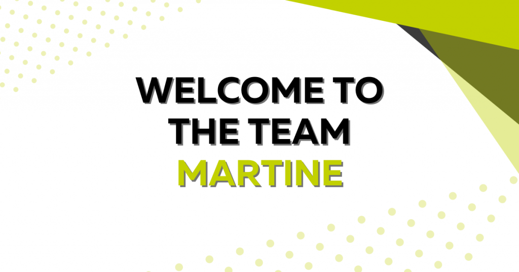 Welcome to the Team Martine!