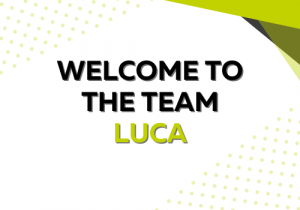 Welcome to the team Luca