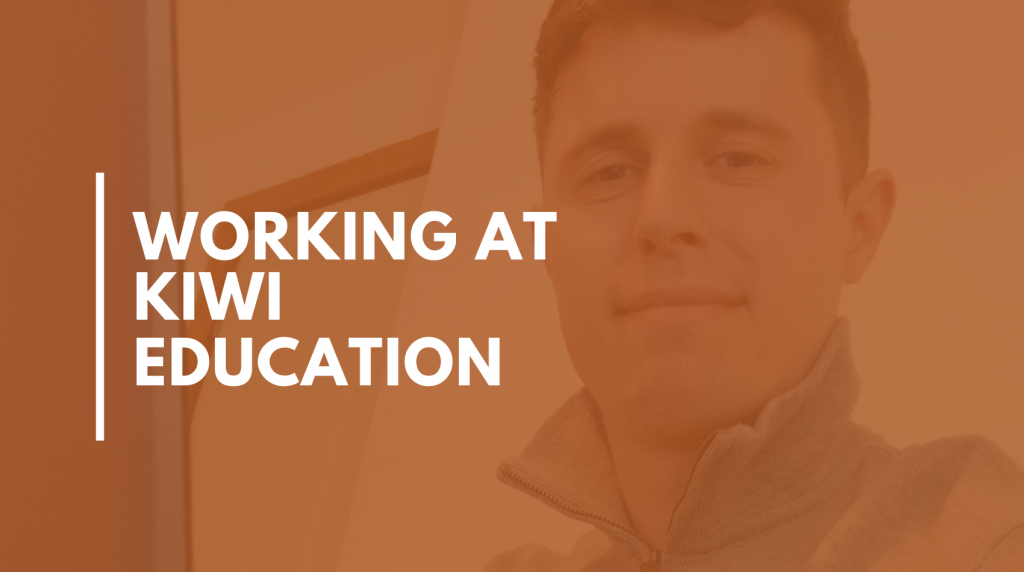 Working at Kiwi Education – Work Coach Rikki