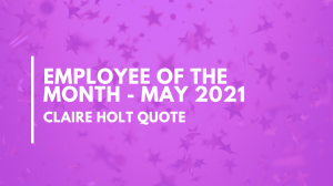 May Employee of the Month – Max