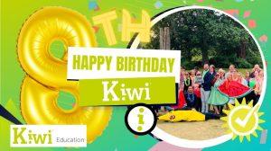 Kiwi turns 8! Happy birthday to us and our sister company Yuzu Training!